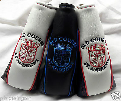 New - Old Course St. Andrews Golf 'Apollo' Blade Putter Cover