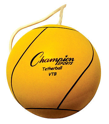 Tether Ball Optic Yellow Reinforced Rubber Cover - Nylon Wound Butyl Bladder