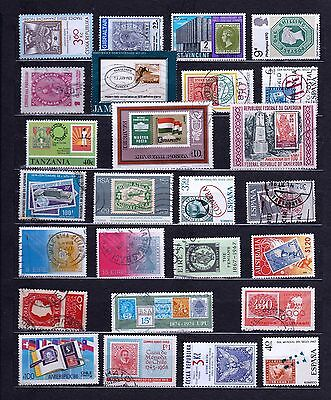STAMP on STAMP Thematic STAMP COLLECTION Mint Used REF:TH452
