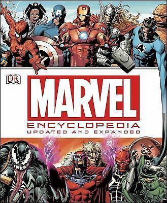 Marvel Encyclopedia: Updated & Expanded (2014)..NEW Hardcover