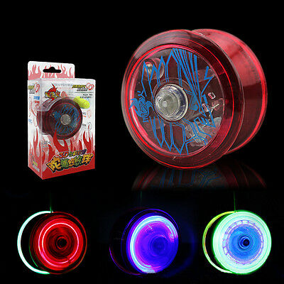 Light Up YoYo Ball for Magic Juggling Toy Fancy Moves Flashing LED Kids Gift