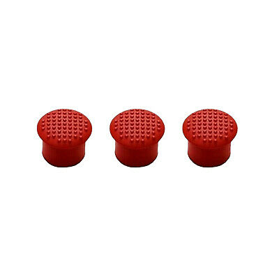 3 Pcs Rubber Mouse Pointer TrackPoint Red Cap for IBM Thinkpad Laptop Nipple US