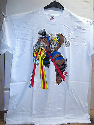 Vintage T-Shirt: Cable in Fire Fight (jumbo print) (XL) (USA, 1993)