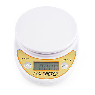 5kg 1g Digital Electronic LCD Kitchen Food Weighing Postal Scale g, oz, lb