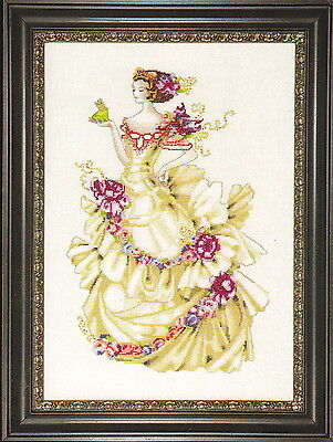 Ella, The Frog Princess - Mirabilia - Cross Stitch Pattern
