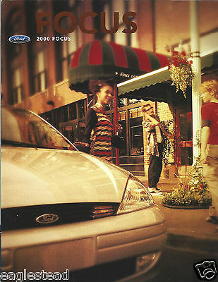 Auto Brochure - Ford - Focus - 2000  (AB889)