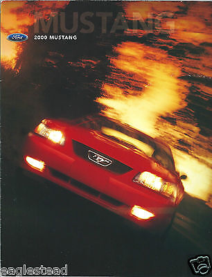 Auto Brochure - Ford - Mustang - 2000  (AB890)