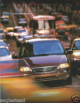 Auto Brochure - Ford - Windstar - 2000  (AB891)