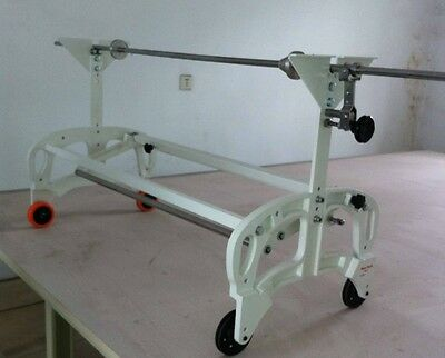 "Cloth Spreader machine Manual Expandable adjusts between 42"" and 72"" + metal bar"