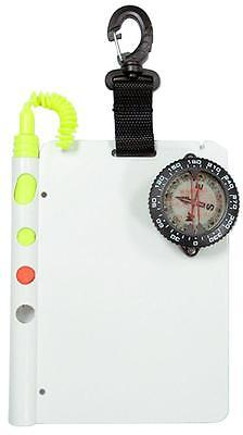 Storm Underwater Scuba Divers Writing Slate with Compass