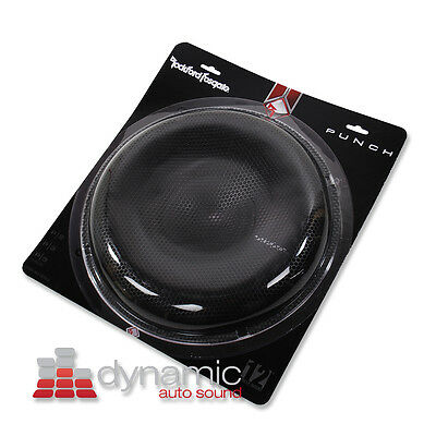 """Rockford Fosgate P2P3G-12 Subwoofer Grille 12"""" Stamped Mesh Grill P2P3G12 Sub"""