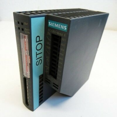Siemens Sitop DC-USV-Modul 6 6EP1931-2DC42 6EP1 931-2DC42 E:1 Power Supply-used-