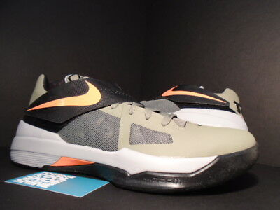 12e97de19bdc Nike Zoom KEVIN DURANT KD IV 4 ROGUE GREEN ORANGE BLACK WOLF GREY 473679-302