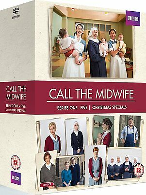 Call The Midwife Series 1-5 + Christmas Special 2015 Dvd Season 1 2 3 4 5
