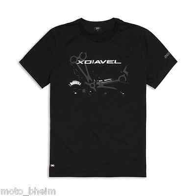 DUCATI T-Shirt Iron Dream XDiavel Shirt schwarz NEU original