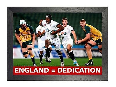 England Rugby 2 Photo Inspirational Motivation Quote Picture Sports Poster