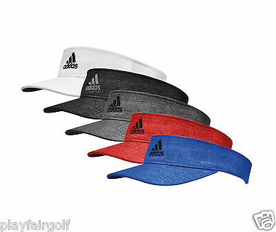 New For 2016 - adidas Golf Men's FlexFit Visor - One Size Fits Most