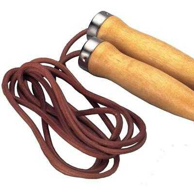2 x MA SPORTS BOXING FITNESS GYM LEAHER 8ft SKIPPING ROPE RRP £12 EACH