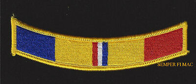 Us Navy Combat Action Ribbon Hat Patch Tab Military Badge Marines Pin Up Fmf Wow