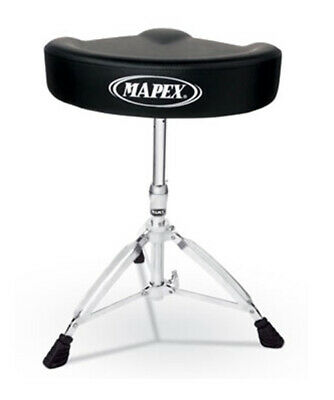 Mapex T575A Drum Stool Throne Vinyl Saddle Top
