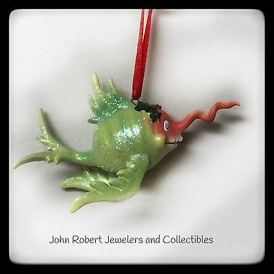 Dept 56 Dr Seuss Corkscrew Fish Ornament