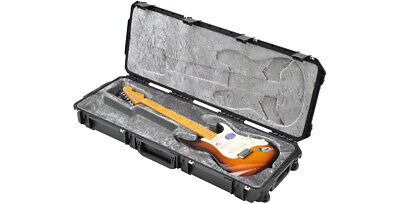 NEW SKB iSERIES WATERPROOF ELECTRIC GUITAR FLIGHT CASE TSA - For STRAT or TELE