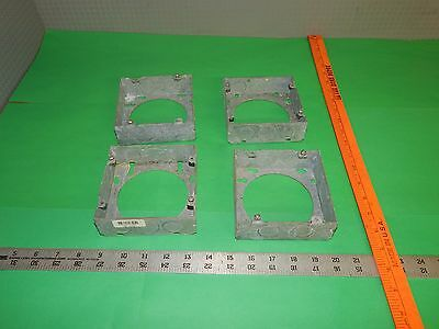 """STEEL CITY 4/"""" SQUARE 3//4/"""" STEEL BOX SUPPORT COVER LOT OF 25 52CM14 NIB *PZB*"""