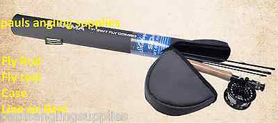 Shakespeare Sigma Fly Fishing Combo Rod / Reel in Case LINE & BACKING FITTED
