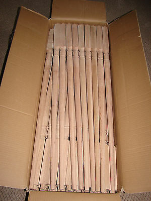 Solid oak Stair Balusters Spindles MINT BRAN NEW