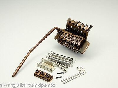 Copper Age Floyd Rose Tremolo Original Style for 6-string Guitars ultra aged