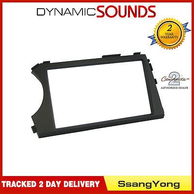 CT23SY07L (L.H.D) Double Din Fascia Panel Adaptor For SsangYong Kyron 2005>