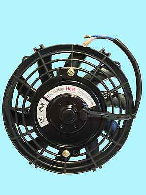 "Universal 7"" Inch Car Radiator Fan, 2 Years Guarantee, O.e.m. Make, Iso9001"
