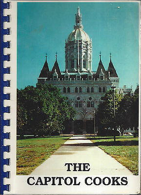 *hartford Ct 1989 The Capitol Cooks Cook Book *state Government & Staff *recipes
