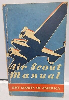 1943 Boy Scouts of America Air Scout Manual 5th Edition Paperback Book