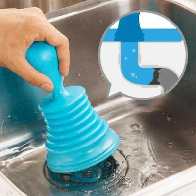 Hot 3Colors Home Sink Plunger Blocked Toilet Drain Unblock Sinks Pipe Cleaner LG