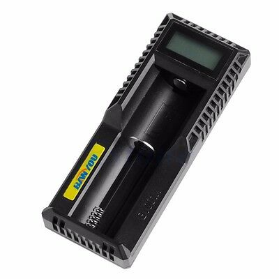 Micro USB LCD Display Intelligent 18650 14500 16350 Li-ion Battery Charger AAA