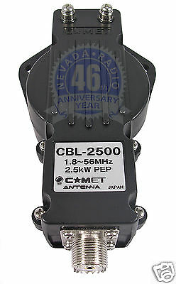 Comet CBL-2500 high power 2.5Kw 1:1 Balun 1-56 MHz
