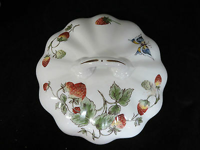 Vintage Bone China Coalport Strawberry Lid for Round Covered Vegetable Dish