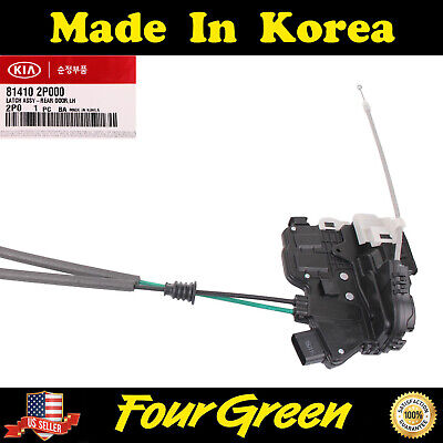 Genuine Door Lock & Actuator Rear Left Driver KIA SORENTO 11-14 NEW [814102P000]