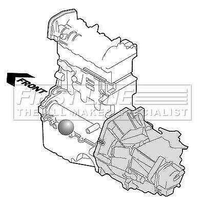 FIRSTLINE FEM3132 ENGINE MOUNTING fit Audi 100  Coupe 2.0/2.3 89-92