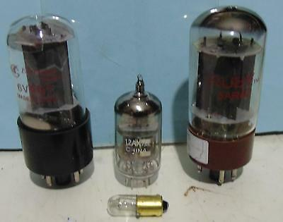 Fender Champ tube valve replacement set