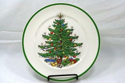 Plummer New York Christmas Tree Luncheon Plate