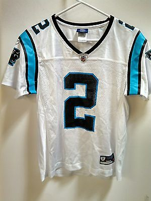 NFL Damen Ladies Football Trikot Jersey CAROLINA PANTHERS Jimmy Clausen 2 white