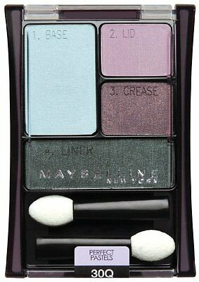 Maybelline Perfect Pastels Expert Wear Eye Shadiw Quad -30Q Seashore Frost new