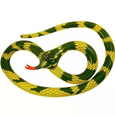 Inflatable Snake 230cm Blow Up Toy Loot Pool Party Bag Fancy Dress Kidz Toy UK