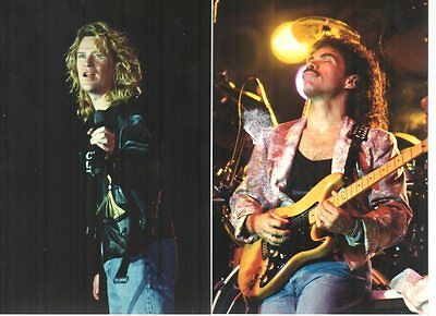 estate find set of 2 DARYL HALL & JOHN OATES 1989 Photos at FWA Greenville SC