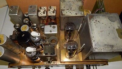 Signal Corps Tube Amplifier Transmitter T-264 Frc 6A Us Army Western Electric