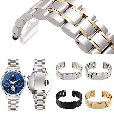 Quick-Release Stainless Steel Watchband Band Strap for Huawei Smart Watch 18mm