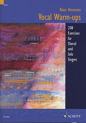 Vocal Warm-Ups 200 Exercises for Singers Music Book Choral & Solo Voice Sing