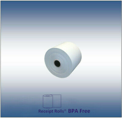"A New Case of 2 1/4"" x 150' Thermal Paper Receipt Rolls 50/CS"